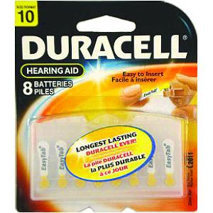 Duracell Activair 8 Pack of Batteries