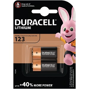 123A 3V Lithium Battery - 2 pack