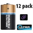 12 Pack of Duracell D Size Batteries