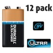12 Pack of Duracell 9v Batteries
